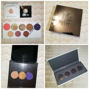 13 Eyeshadows CP Looxi Mac Morphe MUG + 2 Palettes